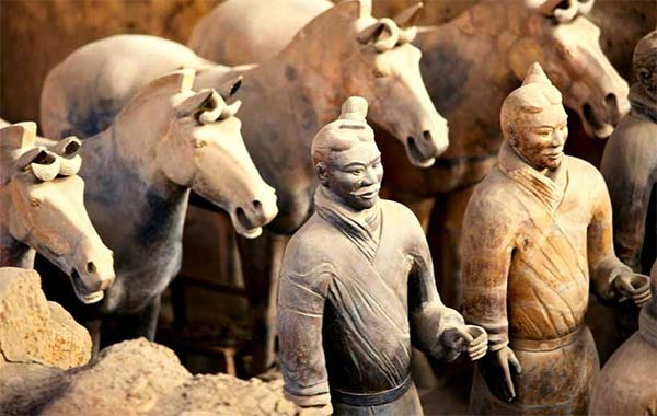 terracota warriors